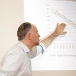 Folie zur Entwicklung des Rentenniveaus