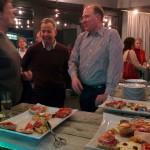 Tim Wessels hatte in Hamburg leckere Sandwiches besorgt.  Danke auch an Raumsponsor exali.de