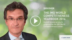 Professor Artura Bris stellt auf der Website des IMD das Ranking in einem Video vor (Screenshot)