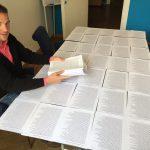 VGSD-Geschäftsführer Max Hilgarth nach dem Ausdruck der Petition