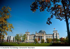 Reichtstagsgebäuce - Foto: Deutscher Bundestag / Simone M. Neumann