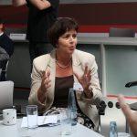 Birgit Kömpel diskutierte über das Thema Pflichtversicherung versus Nachweis über Grundsicherung (Foto: spdfraktion.de)