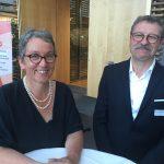 Christa Weidner und ihr Mann, der bei den Prozessen gegen die DRV, abera auch der Vortragsreise für den VGSD stets an ihrer Seite war