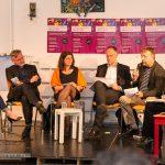 Die Diskussion findet im Kreativquartier am Leonrodplatz statt, in einem Komplex aus mehreren Hallen - Foto: Thomas Dreier, t3-foto.de