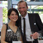 Bernd Beigl (Werner-Bonhoff-Preis 2007) mit Tanja Fink-Cvetnic von der Uni Augsburg - Foto: Katja Hoffmann