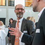 Joachim Henseler vom Deutschen Dialogmarketing Verband (DDV) im Gespräch mit Andreas Lutz - Foto: Katja Hoffmann