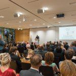 06.06.2016, Berlin. Verleihung des Werner-Bonhoff-Preises 2016 in der Landesvertretung Schleswig-Holstein. Preistraegerin 2016 ist Christa Weidner. Dr. Christian Gruen.