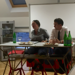 Andreas Nahles und Abteilungsleiter Benjamin Mikfeld