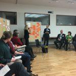 Kristin Müller fasst die Ergebnisse der Untergruppe B zusammen