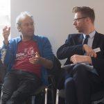 Jonas Kuckuk (BUH) und Daniel Plogmann (in Vertretung von BDÜ-Vizepräsident Ralf Lemster)