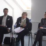 Liliana Gatterer, Präsidentin des Bundes der Selbstständigen (BdS) Deutschland mit Tim Wiedemann, dem Referenten des Landesverbandes Rheinland-Pfalz und Saarland