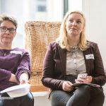 Cornelia Rüping und Anja Gräter