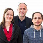 Neuer Vorstand: Andreas Lutz, Sylvie Denarié und Tim Wessels