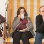 Heidrun Peschen holt sich Koffein-Nachschub