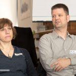 Andrea Kleeberger und Erik Hägele
