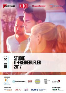 """Die Titelseite der Stude """"IT-Freiberufler 2017"""""""