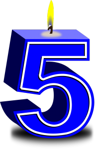 Der VGSD wird 5 – und die Regionalgruppen feiern. Bild: Pixabay