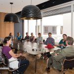 Fragestunde im Konferenzraum, Foto: Thomas Dreier