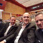 Max Hilgarth, Andreas Lutz und Gernot Labs (Arbeitsgruppe Scheinse)