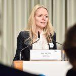 Ilka Wölfle ist für Annette Widmann-Mauz eingesprungen. Wölfe ist Direktorin der DSV Europa, der gemeinsamen Interessenvertretung der gesetzlichen Krankenkassen in Brüssel, Foto: IKKeV
