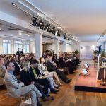 Hier erklärt Hans Peter Wollseifer, der Präsident des Zentralverband des Deutschen Handkwerks (ZDH), auf dem IKK-Forum seine Position zu den GKV-Mindestbeiträgen, Foto: IKKeV