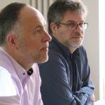 Dr. Andreas Lutz, Jan-Peter Wahlmann (AGD), Foto: Jonas Kuckuk, BUH