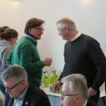 Gespräche in einer kurzen Kaffeepause, Foto: Jonas Kuckuk, BUH