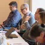 Jan-Peter Wahlmann (AGD), Michael Wörle (IFHandwerk), Björn Sacknieß (ADESW), Katharina Luise Kuhl (BDD), Helke Heino (ATICOM), Foto: Jonas Kuckuk, BUH