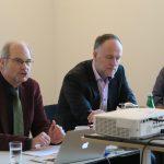 Dr. Reinhold Thiede (DRV), Dr. Andreas Lutz (VGSD), Jan-Peter Wahlmann (AGD), Foto: Jonas Kuckuk, BUH