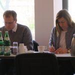 Björn Sacknieß (ADESW), Katharina Luise Kuhl (BDD), Foto: Jonas Kuckuk, BUH
