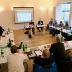 Diskussion mit Dr. Reinhold Thiede von der Deutschen Rentenversicherung (DRV), Foto: Jonas Kuckuk, BUH