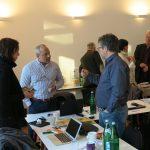 Intensive Gespräche zwischen Verbandsvertretern in einer Pause, Foto: Jonas Kuckuk, BUH