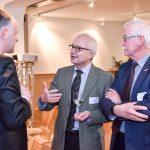 Andreas Lutz im Gespräch mit Andreas Fabri und Reinhard Richter