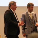 Marcello Danieli mit Till Bartelt, dem Vorstand der Werner-Bonhoff-Stiftung, Foto: Jonas Kuckuk