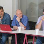 V.m.n.r.: Peter Hirscher, Max Hilgarth, Foto: Jonas Kuckuk