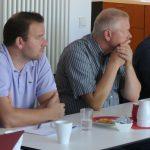 Peter Hirscher, Max Hilgarth, Joachim Groth, Jan Peter Wahlmann, Mario Müller, Foto: Jonas Kuckuk