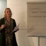 Nicole Caporosso nahm sich viel Zeit für die Fragen der Teilnehmenden, Foto: Elke Koepping