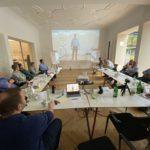 Beim Videotraining, Foto: Andreas Lutz