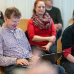 Stefan Hackenthal hat das Schreiben des Protokolls übernommen, Foto: Thomas Dreier