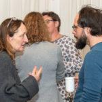 Sieglinde Gränzer im Gespräch mit Tim Wessels, Foto: Thomas Dreier
