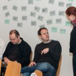 Johannes Weber, Robert Gerlach, Ludwig Gramberg, Carolin Theuring, Foto: Thomas Dreier