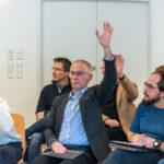 Wer möchte alles in der Session mitmachen?, Foto: Thomas Dreier