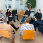 Session 6 zur Weiterentwicklung unserer Website, Foto: Thomas Dreier