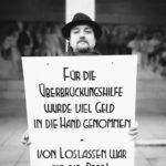 Fuer die Ueberbrueckungshilfe wurde viel Geld in die Hand genommen - von Loslassen war nicht die Rede, Foto: IKiD/VGSD