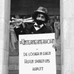 Gruppenmotiv unserer künstlerischen Protestaktion - Foto: Sascha Schwarz, Foto: IKiD/VGSD