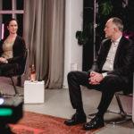 Bei den Aufnahmen zum Wirtschaftsdialog, Fotos: FDP-Bundestagsfraktion